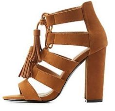 Chunky Caged Heel-CR