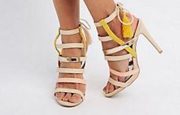 Strappy Tassel Sandal